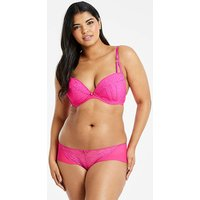 Ann Summers Sexy Lace Plunge Pink Bra