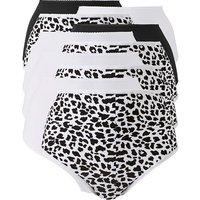 10pack Animal Print Full Fit Briefs