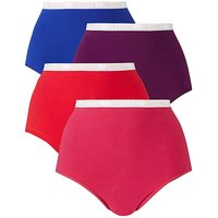 4pack Slimma Full Fit Pinks Briefs