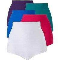 5pack Multi Darks Comfort Shorts