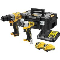 Dewalt Brushless Hammer and Impact Drill.