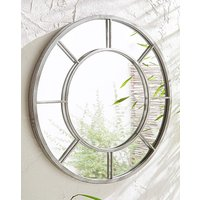 Round Garden Mirror