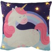 Enchanted Rainbow Unicorn LED Cushion