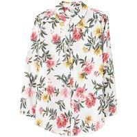 Joules Floral Button Front Shirt.