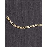 Gent's 9 Carat Gold 23cm Curb Bracelet
