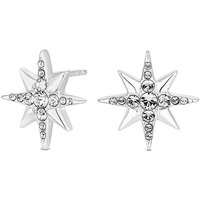 Simply Silver North Star Stud Earring.