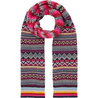 Accessorize Harvard Fairisle Scarf