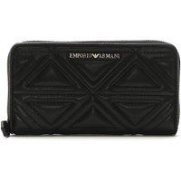 Emporio Armani Foglio Quilted Wallet