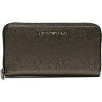 Emporio Armani Foglio Pebbled Wallet