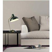 Ayden Arch Arm Dark Green Desk Lamp