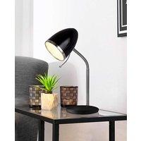 Black & Chrome Desk Lamp