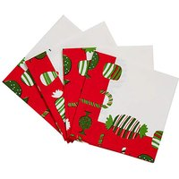 Christmas Treats Set of 4 Napkins
