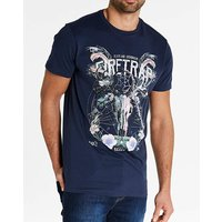 Firetrap Burgos T-Shirt Long