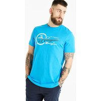 Original Penguin Script Circle Tee Reg