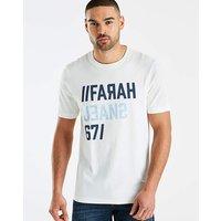 Farah Jeans 671 Logo Print T-Shirt