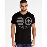 Crosshatch Black Crisscross T-Shirt R