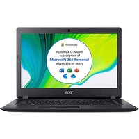 Acer Aspire 1 14in HD Notebook - Black