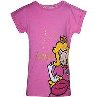 'Super Mario Bros Girl's Princess T-shirt