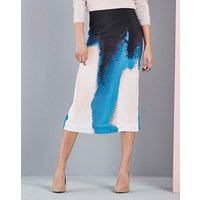 Concept Printed Pencil Skirt
