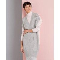 Concept Cashmere Silk Back Tunic