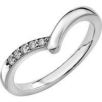 18 Carat Gold Wishbone Ring
