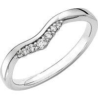 18 Carat Gold Diamond Tiara Ring