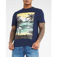 Landscape Graphic T-shirt Long.