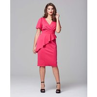Scarlett & Jo Wrap Bodycon Dress