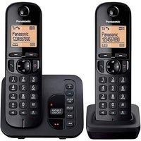 Panasonic KX-TGC222EB Twin Telephone.