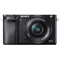 Sony 6000 Black Body + Power Zoom Lens.