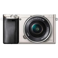 Sony 6000 Silver Body + Power Zoom Lens.