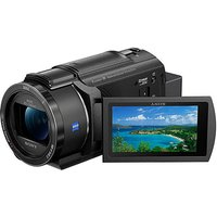Sony FDR-AX43 Ultra HD Camcorder.
