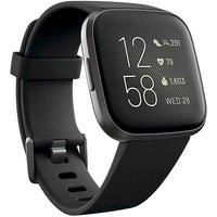 Fitbit Versa 2 Black/Carbon Aluminium
