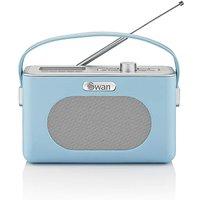 Swan Retro DAB Radio - Blue.