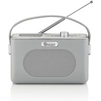 Swan Retro DAB Radio - Grey.