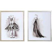 Figurative Framed Prints Set of 2.