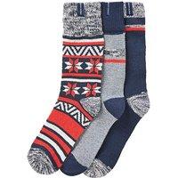 Ben Sherman Pack Of 3 Boot Socks