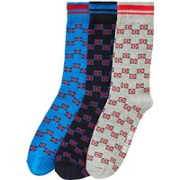 Ben Sherman Pack Of 3 Union Jack Socks