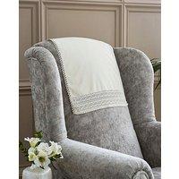 Lace Anti Slip Chair Backs.
