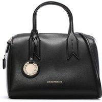 Emporio Armani Frida Textured Bowler Bag