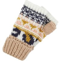Accessorize Leopard Fairisle Cut Off