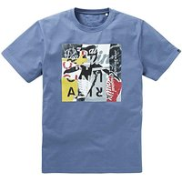 Original Penguin Collage T-Shirt Long