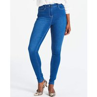 Petite Lucy High Waist Skinny Jeans