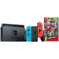 Nintendo Switch Neon Console + Mario
