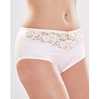 2 Pack Ella White/Champagne Shorts