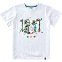 Joe Browns Boys Drum Kit Print T-Shirt