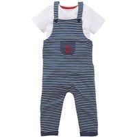 KD Baby Boy Dungaree and T-Shirt Set