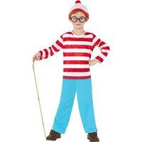 Wheres Wally Boys Costume