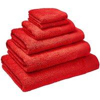 Egyptian Cotton Towel Range- Tomato