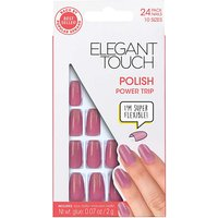 Elegant Touch Polished Nail Power Trip